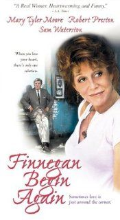 Finnegan Begin Again [VHS]: Mary Tyler Moore, Robert Preston, Sam Waterston, Sylvia Sidney, David Huddleston, Bob Gunton, Giancarlo Esposito, Russell Horton, Avery Brooks, Peter Friedman, Jon DeVries, Frederick Strother, Robby M�ller, Joan Micklin Silver,