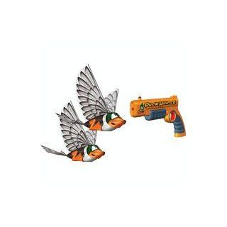 Interactive Toy Concepts Duck Hunter Indoor DOUBLE Flying Fowl Hunting Game: Toys & Games