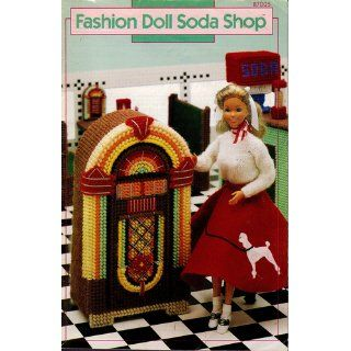 Fashion Doll Soda Shop [plastic canvas]: Mary Layfield: Books