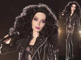 80's Cher Bob Mackie Doll   If I Could Turn Back Time Music Video Outfit