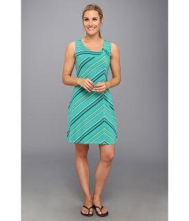 Royal Robbins Essential Tencel Stripe Dress Womens Dress (Green)
