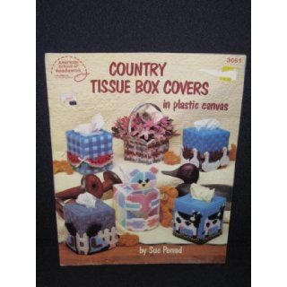 Country Tissue Box Covers In Plastic Canvas   3051: Due Penrod: Books