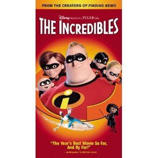 The Incredibles [VHS]: Craig T. Nelson, Samuel L. Jackson, Holly Hunter, Jason Lee, Dominique Louis, Teddy Newton, Jean Sincere, Eli Fucile, Maeve Andrews, Wallace Shawn, Spencer Fox, Lou Romano, Brad Bird, Bud Luckey, Roger Gould, John Lasseter, John Walk