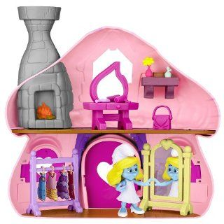 The Smurfs Smurfette Chic Playset Smurfette's Boutique: Toys & Games