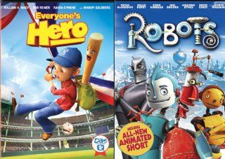 Everyone's Hero / Robots: Ewan McGregor, Halle Berry, Mel Brooks, Robin Williams, Jake T. Austin, Brian Dennehy, Whoopi Goldberg, Paula Abdul, Lucille Bliss, Terry Bradshaw, Jim Broadbent, Amanda Bynes, Carlos Saldanha, Chris Wedge, Christopher Reeve,