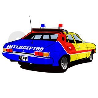 Mad Max Interceptor Square Sticker by Admin_CP10864436