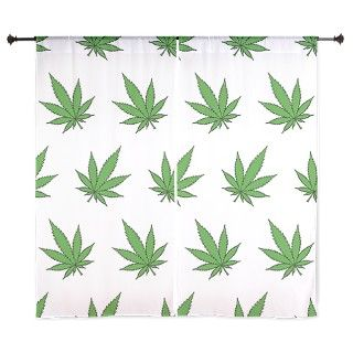 Marijuana Leaves 60&Quot; Curtains by BestGear