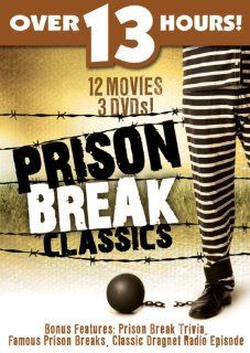 Prison Break Classics 12 Movie Pack: Barton MacLane, Charles Bickford, Jackie Gleason, Ben Alexander, Ralph Forbes, Frankie Darro, William Hopper, Constance Moore, Robert Wilcox, Dorothy Comingore, Faye Emerson, Eleanor Hughes, Beverly Roberts, Dorothy Tre