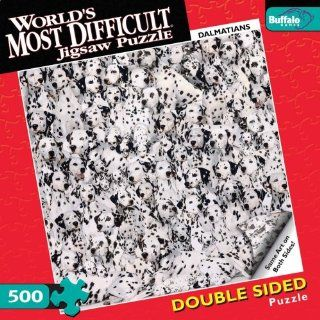 World's Most Difficult Jigsaw Puzzle Dalmatians Toys & Games