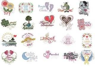 OESD Embroidery Machine Designs CD SAYINGS FOR EVERYONE