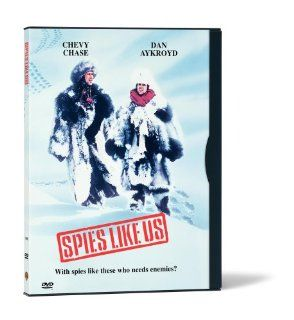 Spies Like Us (Snap Case): Chevy Chase, Dan Aykroyd, Steve Forrest, Donna Dixon, Bruce Davison, Bernie Casey, William Prince, Tom Hatten, Frank Oz, Charles McKeown, James Daughton, Jim Staahl, John Landis, Bernie Brillstein, Brian Grazer, Erik Disch, Babal