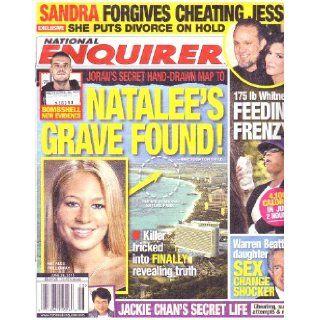 June 28, 2010 National Enquirer NATALEE HOLLOWAY SANDRA BULLOCK JESSE JAMES WHITNEY HOUSTON: American Media Inc.: Books