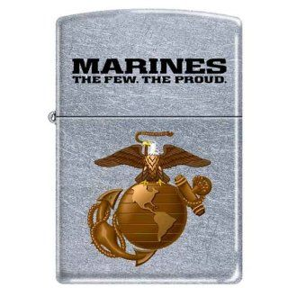 US Marine USMC ~ Marines,The Few, The Proud ~ Military Zippo Lighter Semper Fi: Sports & Outdoors