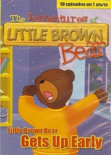 "The Adventures of Little Brown Bear DVD ~ ""Little Brown Bear Gets Up Early"" Toys & Games"