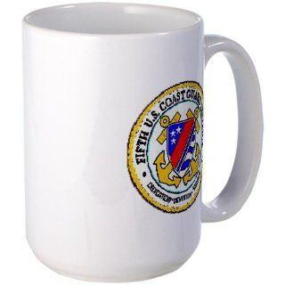 Fifth Coast Guard District Coffee Mug Large Mug   Standard Kitchen & Dining