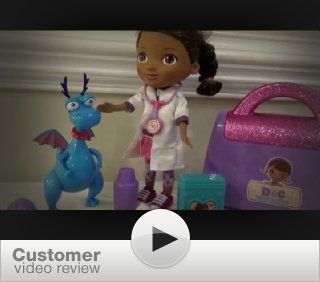 Just Play Doc McStuffins Make Me Better Stuffy Set: Toys & Games