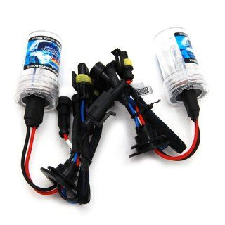 DEDC New 1 pair 35w 9006 (HB4) 8000K Single Beam HID Xenon Lights Replacement Bulbs HID lights Automotive