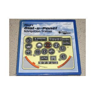 1982 Pilot's DIAL a PANEL Navigation Trainer Boxed Kit. Visual training aid that is a personal flight simulator for radio navigation. It consists of a 248 page instructional manual and twelve, two sided instrument discs. Advanced VRF and IFR pilots. H