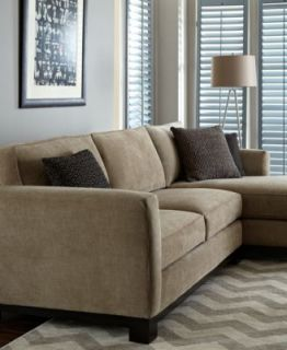 Roxanne Fabric Modular Sectional Sofa, 6 Piece (Square Corner Unit, Chaise, 3 Armless Chairs and Ottoman)   Furniture