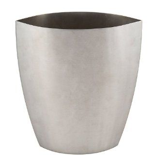 "Stainless Steel Cat Eyes Shape Pot Vase Plant Flower 8.4"" x 4"" x 10"" K238 1   Decorative Vases"