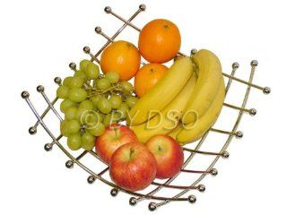 Apollo Elegant Metal Fruit Basket Italian Design AP7877
