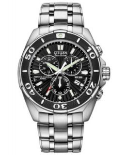 Citizen Mens Automatic Grand Touring Eco Drive Stainless Steel Bracelet Watch 44mm NB0070 57E   Watches   Jewelry & Watches