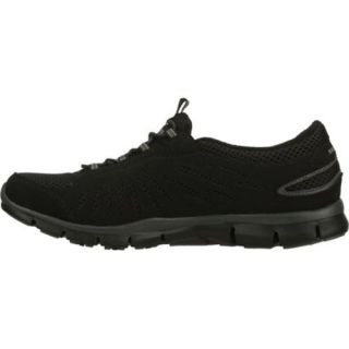 Women's Skechers Gratis Big Idea Black Skechers Sneakers