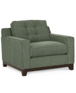 Clarke Fabric Living Room Chair   Furniture