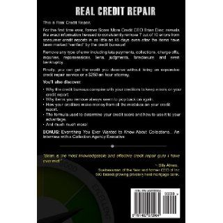 Real Credit Repair: Credit Industry Insider Reveals Step By Step Method for Fast Credit Repair.: Brian Diez: 9781482572964: Books