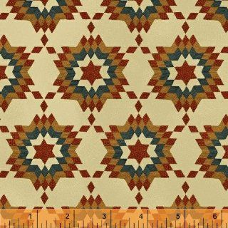 Windham Fabrics Heart of A Nation Quilt   Beige #33738 3 (Fabric by the YARD)