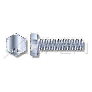 (225pcs) Metric DIN 961 M10X1X20 Fine Thread Hex Head Cap Screw with Full Thread 8.8 steel plain finish Ships Free in USA Cap Screws And Hex Bolts Industrial & Scientific