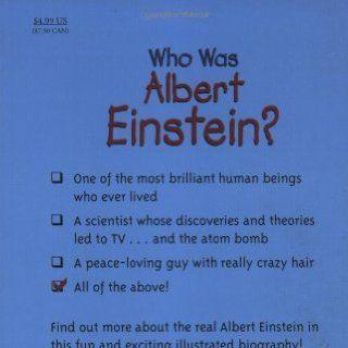 Who Was Albert Einstein? Jess Brallier, Robert Andrew Parker, Nancy Harrison 9780448424965 Books
