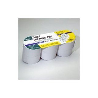 ROYAL 13127 Cash Register Roll Paper   3 Pack : Calculator And Cash Register Paper : Electronics