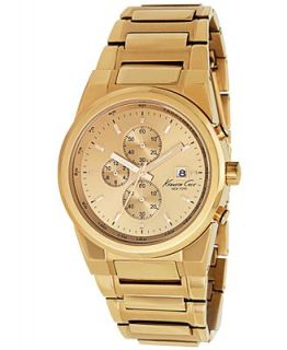 Kenneth Cole New York Watch, Mens Chronograph Rose Gold Ion Plated Stainless Steel Bracelet KC9038   Watches   Jewelry & Watches