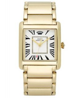 Juicy Couture Watch, Womens Darby Gold Tone Stainless Steel Bracelet 35x30mm 1901057   Watches   Jewelry & Watches