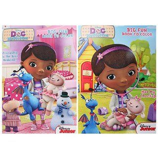 Doc McStuffins Big Fun Book to Color [2 Pack]   Childrens Party Favor Sets