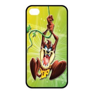 Mystic Zone Customized Taz iPhone 4 Case for iPhone 4/4S Hard Cover cool Cartoon Fits Case KEK0043: Cell Phones & Accessories