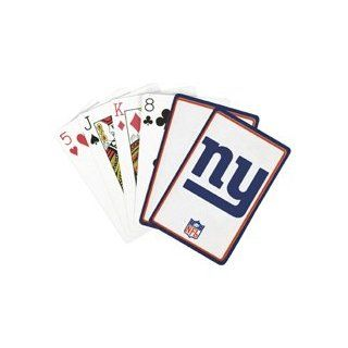 NFL Playing Cards   New York Giants Playing Cards  Sports & Outdoors