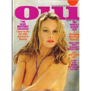 Oui Magazine By Playboy August 1980: Hugh Hefner: Books