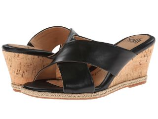Sofft Idola Womens Wedge Shoes (Black)