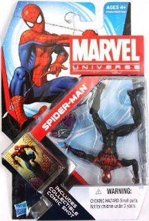 Marvel Universe   SPIDER MAN Unlimited (Black/Red) Toys & Games