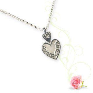 Anam Cara Small Pendant Silver: Boru: Jewelry