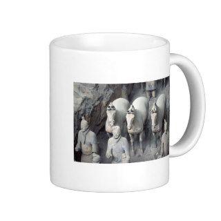 The Terracotta Army Warriors Coffee Mugs