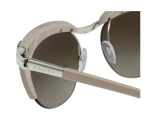 Prada 0pr 61os Silver Green Brown Brown Gradient