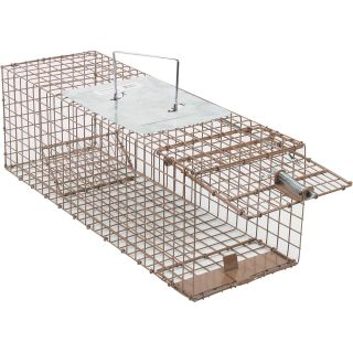 Kness Kage-All Live Animal Cage Trap — Squirrel Trap, Model# 151-0-004  Animal Control