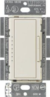Lutron MACL 153M LA Maestro 150 Watt Multi Location CFL/LED Digital Dimmer   Wall Dimmer Switches