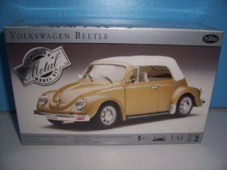 #149 Testors Volkswagen Beetle 1/43 Scale Metal Model Kit,Needs Assembly Toys & Games