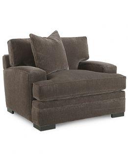 Teddy Fabric Living Room Chair, 47W x 44D x 29H   Furniture