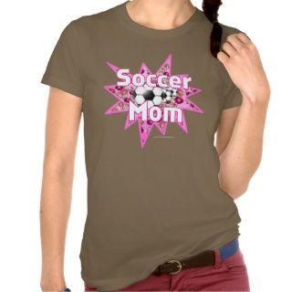Soccer Mom Roses Tee Shirts