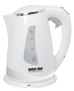 Better Chef IM 145W Cordless Electric Kettle, 1.7 Liter: Kitchen & Dining